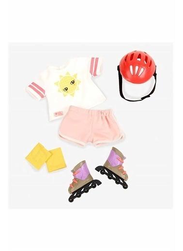 Our Generation Our Generation Oyuncak Bebek Kıyafeti Paten Seti Renkli